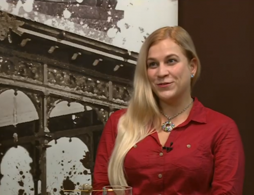 Lengyel Zsófi az Esti Mérleg című műsorban