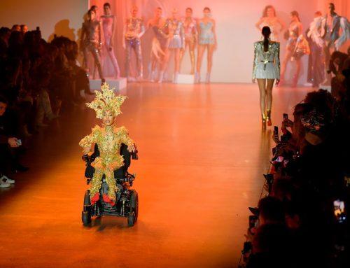 A New York-i divathéten debütált Jillian Mercado kerekesszékes modell